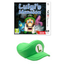 Luigi's Mansion (Nintendo 3DS) + Luigi Cap