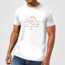 Friends Love Laughter Men's T-Shirt - White