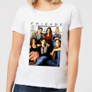 Friends Vintage Character Shot Women's T-Shirt - White
