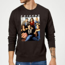 Friends Vintage Character Shot Sweatshirt - Black