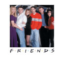 Friends Cast Pose Sweatshirt - White