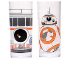 Star Wars BB-8 Glasses (Set of 2)
