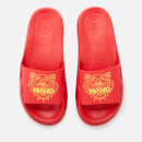 KENZO Women's Tiger Pool Slide Sandals - Medium Red
