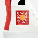 KENZO Women's K-Street Hi-Top Trainers - White