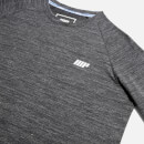 Performance Long Sleeve Top - Charcoal Marl