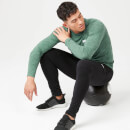 Performance Long Sleeve Top - Green Marl