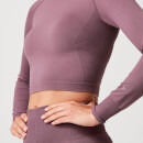 Shape Seamless Crop Top - Mauve