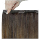 Beauty Works Double Hair Set 18 Inch Clip-In Hair Extensions - #Brond'mbre