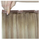 Beauty Works 45 cm Double Hair Set Clip-In Hair Extensions - #Scandinavian Blonde