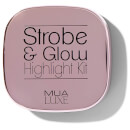 MUA Luxe Strobe & Glow Highlight Kit - Pearl Gold