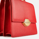 Lulu Guinness Women's Lip Push Lock Patty Bag - Scarlet