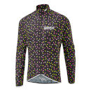 Morvelo Strands Aegis Packable Windproof Jacket - Black/Yellow/White/Pink