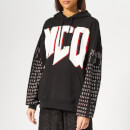 McQ Alexander McQueen Women's Superslouchy Hoody - Darkest Black
