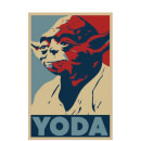 Star Wars Yoda Poster Men's T-Shirt - White