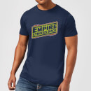 Star Wars Empire Strikes Back Logo Men's T-Shirt - Navy