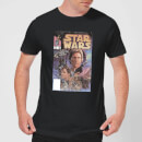 Star Wars Classic Comic Book Cover Men's T-Shirt - Black