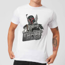 Star Wars Boba Fett Skeleton Men's T-Shirt - White