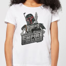 Star Wars Boba Fett Skeleton Women's T-Shirt - White