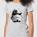Star Wars Command Stromtrooper Death Star Women's T-Shirt - Grey