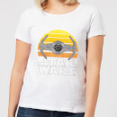 Star Wars Sunset Tie Women's T-Shirt - White
