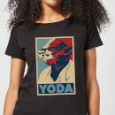 Star Wars Yoda Poster Women's T-Shirt - Black