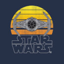 Star Wars Sunset Tie Women's T-Shirt - Navy