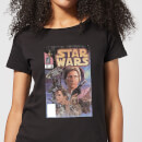 Star Wars Classic Comic Book Cover Women's T-Shirt - Black