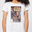 Star Wars Classic Comic Book Cover Women's T-Shirt - White