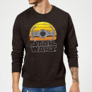 Star Wars Sunset Tie Sweatshirt - Black