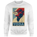 Star Wars Classic Yoda Poster Pullover - Weiß