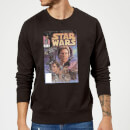 Star Wars Classic Comic Book Cover Sweatshirt - Black