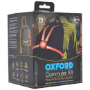 Oxford CommuterX4 Fibre Optic Rear Light