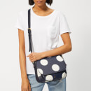 Joules Women's Darby Print Saddle Bag - Navy Spot