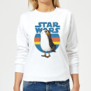 Star Wars Porg Women's Sweatshirt - White
