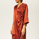 Vivienne Westwood Anglomania Women's Mini Kaftan Dress - Rust