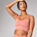 Acid Wash Sports Bra - Copper Rose - XS