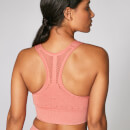 Acid Wash Sports Bra - Copper Rose - XS - Copper Rose