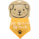 Will Do Tricks for Treats Dog Bandana