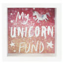 """My Unicorn Fund"" Spardose"