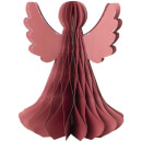 Broste Copenhagen Paper Christmas Angel - Large - Pompeian Red