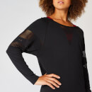 Shape Seamless Loose-Fit Top - Black - XS