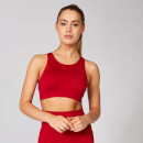 Myprotein Shape Seamless Ultra Sports Bra - Crimson