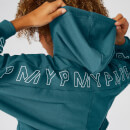 MP Icon Cropped Hoodie - Teal