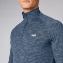 Myprotein Performance 1/4 Zip Top - Dark Indigo Marl - XS
