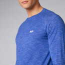 Performance Long-Sleeve T-Shirt - Ultra Blue Marl - S