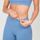 Power Mesh Leggings - Thunder Blue