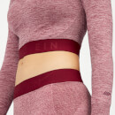 Inspire Seamless Crop Top - Dusty Rose - S