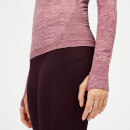 Inspire Seamless Long Sleeve Top - Dusty Rose - L