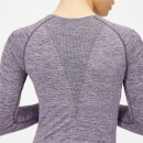 Inspire Seamless Long-Sleeve Top - XS - Soft Purple