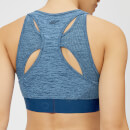Myprotein Inspire Seamless Sports Bra - Blue